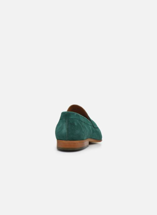 Mocasines Marvin&Co Newmoc Verde vista lateral derecha